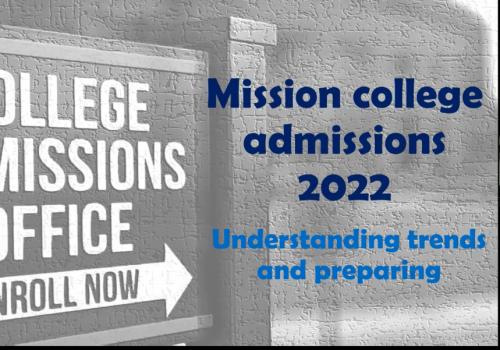 Mission College admission 2