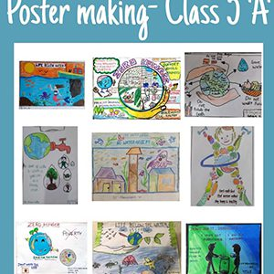 Grade 4 & 5- Poster making Competition